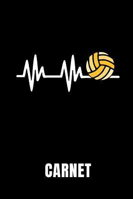 Carnet: Id�e Cadeau Pour Les Joueurs de Volley-Ball - Cahier de 110 Pages Lign�es - Format 6x9 Din A5 - Couverture Souple Mat -