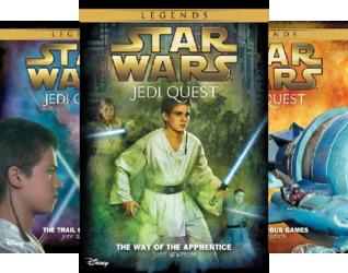 Star Wars Jedi Quest (10 Book Series)