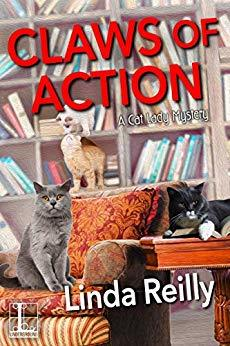 Claws of Action (A Cat Lady Mystery Book 4)