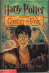 Harry Potter and the Goblet of Fire (Harry Potter, #4) cover