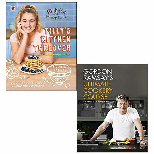 Tillys kitchen takeover, gordon ramsays ultimate cookery course 2 books collection set