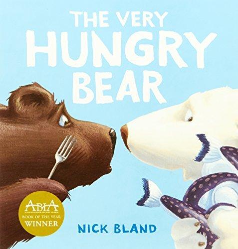 Very Hungry Bear Board Book