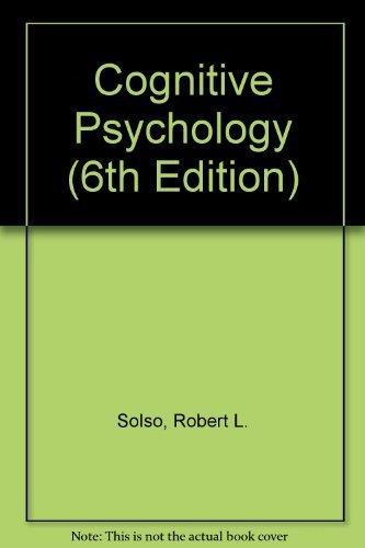 Cognitive Psychology (6th Edition)