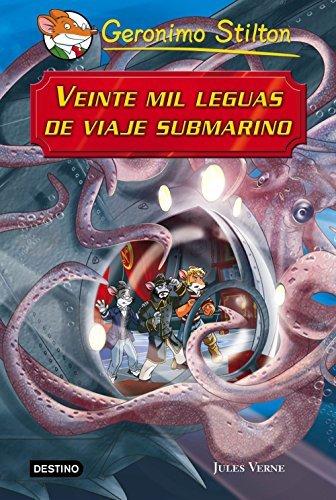 Veinte mil leguas de viaje submarino. Grandes historias