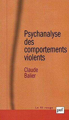 Psychanalyse des comportements violents (Fil rouge