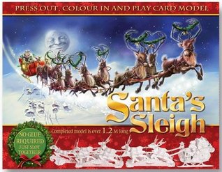 Press Out & Build Santa's Sleigh