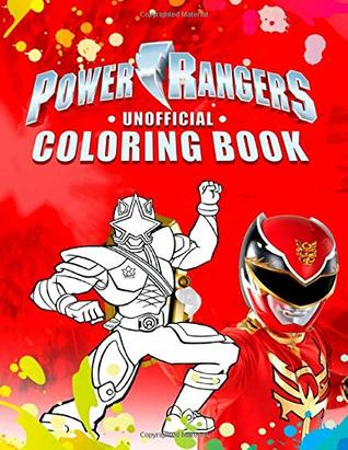 Power Rangers Coloring Book: Great Coloring Book For Kids by Lora Lee