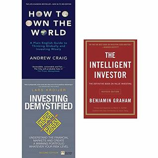 How to Own the World, Investing Demystified, Intelligent Investor 3 Books Collection Set