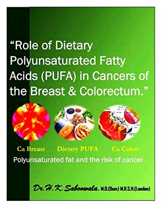 """""""Role of Dietary polyunsaturated fatty acids in cancers of the breast and colorectum"""": Polyunsaturated fat and the risk of cancer."""