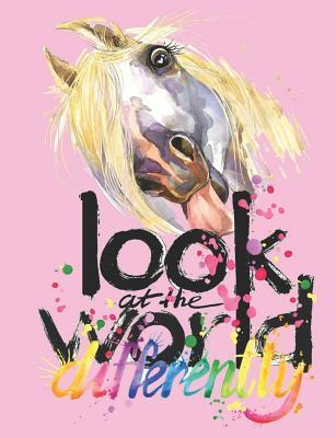 Back to School Composition Notebook for Girls Funny Horse for Creative Inspiration Cute Animal Book for Elementary Students Wide Ruled Journal: Class Notepad for Kids Back-To-School Supplies Diary for Children's Writing Assignments Lined Paper