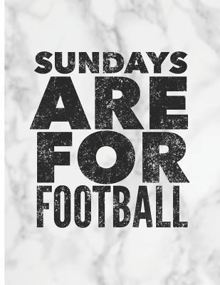 Sundays Are for Football: Write Your Own Fantasy Football Draft Board for Ranking Players