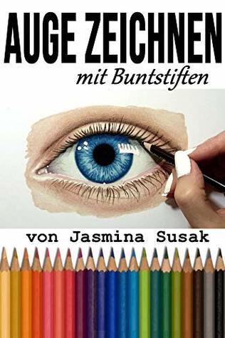 Auge Zeichnen: mit Buntstiften, Schritt-für-Schritt-Tutorial