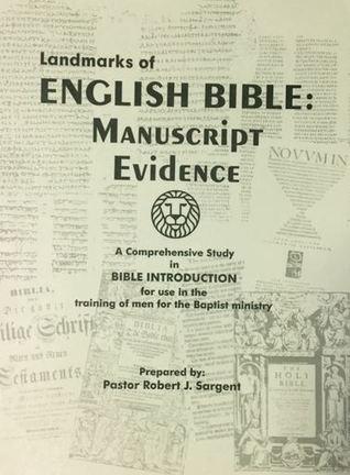 Landmarks of english Bible: Manuscript Evidence