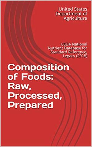 Composition of Foods: Raw, Processed, Prepared : USDA National Nutrient Database for Standard Reference, Legacy (2018)