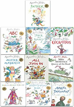 Quentin Blake 10 Picture Books Collection Set in a Bag