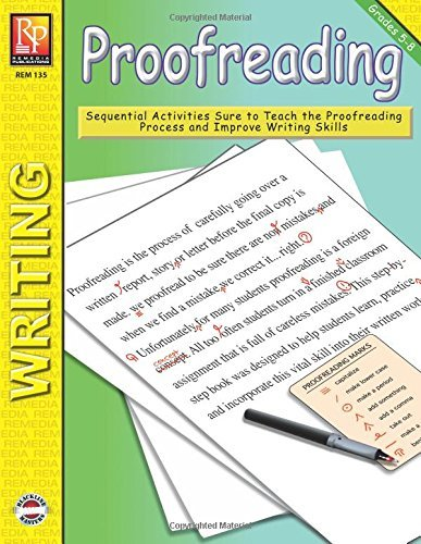 Proofreading (Grade 5-8) | Reproducible Activity Book
