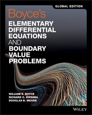 Boyce's Elementary Differential Equations and Boundary Value Problems