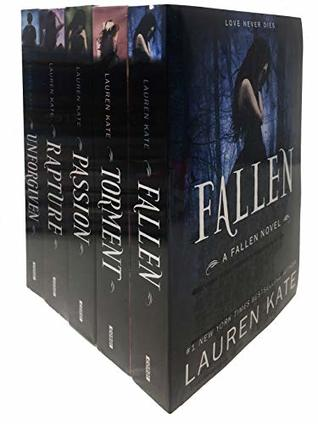 Lauren Kate Fallen Series 5 Books Collection Set
