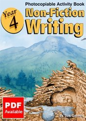 Year 4 - Non-fiction Writing: Photocopiable Activity Book