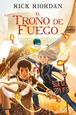 El trono de fuego. Novela gráfica / The Throne of Fire: The Graphic Novel
