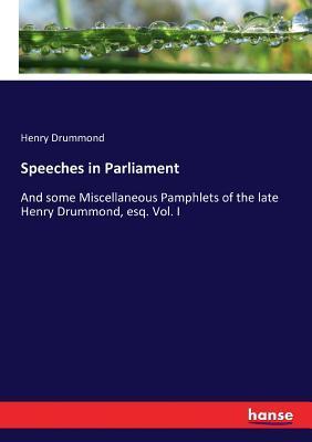 Speeches in Parliament