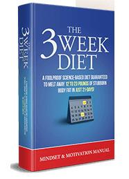 The Mindset & Motivation Manual of 3 Week Diet