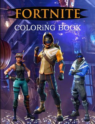 Fortnite Coloring Book: Amazing Unofficial Battle Royale Coloring Book with 39 Unique Images to Color