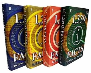 QI Facts Series 4 Books Collection Set (Quite Interesting-1227 QIFacts To Blow Your Socks Off,1234 QIFacts to Leave You Speechless,1423 QIFacts to Bowl You Over ,1339 QIFacts To Make Your Jaw Drop)