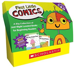 First Little Comics: Guided Reading Levels C D (Classroom Set): A Big Collection of Just-Right Leveled Books for Beginning Readers