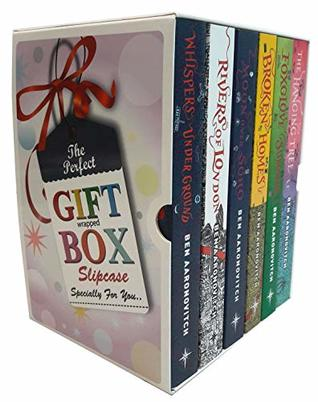 Rivers of london novel ben aaronovitch collection 6 books gift wrapped box set