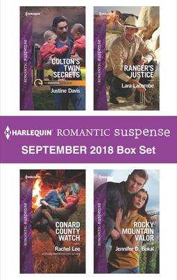 Harlequin Romantic Suspense September 2018 Box Set: Colton's Twin Secrets\Conard County Watch\Ranger's Justice\Rocky Mountain Valor
