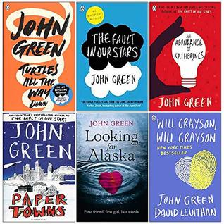 John Green Collection 6 Books Set