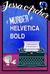 A Murder in Helvetica Bold by Jessa Archer