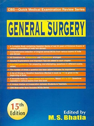 CBS Quick Medical Examination Review Series: General Surgery