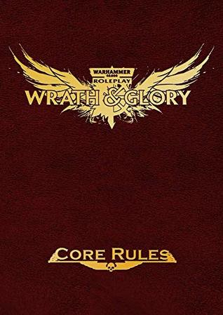 Wrath & Glory Core Rules Limited Edition Red Leatherette (ULIWG1000R)