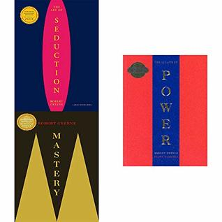 Robert greene 3 books collection set -(mastery,art of seduction,48 laws of power)