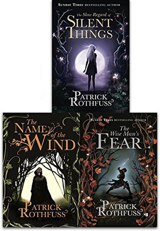 The Kingkiller Chronicle Collection Patrick Rothfuss 3 Books Set