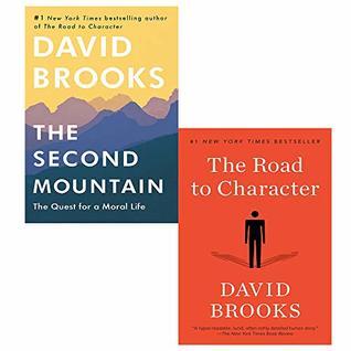 David Brooks 2 Books Collection Set