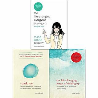 Marie Kondo 3 Books Collection Set