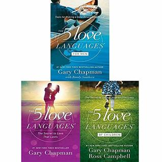 Gary Chapman 3 Books Collection Set (The 5 Love Languages, The 5 Love Languages of Children, The 5 Love Languages for Men)