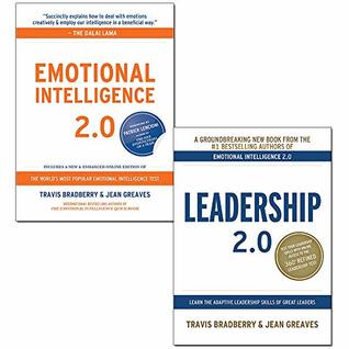 Travis Bradberry 2 Books Collection Set (Emotional Intelligence 2.0, Leadership 2.0)