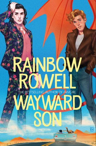 Image result for carry on wayward son books