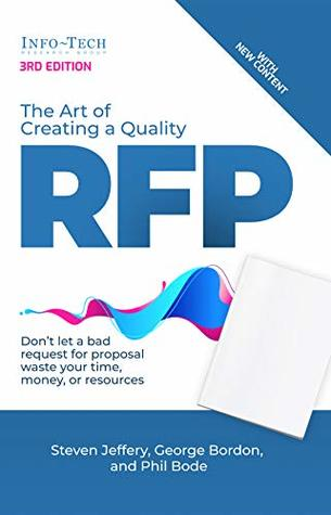 The Art of Creating a Quality RFP: Don't let a bad request for proposal waste your time, money, and resources.
