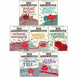 Ben Aaronovitch Rivers of London Series Collection 7 Books Set
