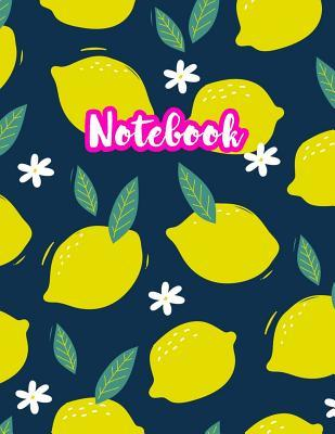 Notebook: Cute Blank Lined Journal Large 8.5 x 11 Matte Cover Design with Ruled White Paper Interior (Perfect for School Notes, Girls and Boys Diary, Kids Writing Composition, Planner, College Subject, Office Use) - Product Code D2 228