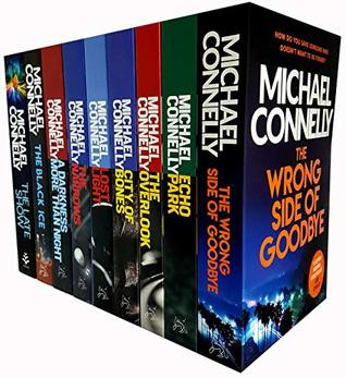 Michael connelly harry bosch series 9 books collection set