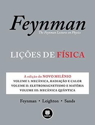 Lições de Física: A Edição do Novo Milênio - 3 Volumes