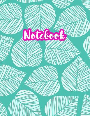 Notebook: Cute Blank Lined Journal Large 8.5 x 11 Matte Cover Design with Ruled White Paper Interior (Perfect for School Notes, Girls and Boys Diary, Kids Writing Composition, Planner, College Subject, Office Use) - Product Code D2 388