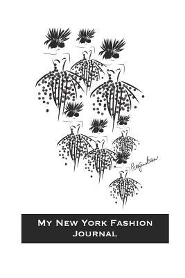 My New York Fashion Journal: Stylishly illustrated black and white cover makes the perfect notebook for your New York city break and exciting shopping experience. The artwork is subtly infused on the inner dot grid paper to add that extra touch of style.