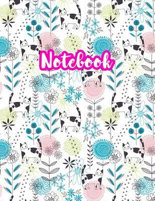 Notebook: Cute Blank Lined Journal Large 8.5 x 11 Matte Cover Design with Ruled White Paper Interior (Perfect for School Notes, Girls and Boys Diary, Kids Writing Composition, Planner, College Subject, Office Use) - Product Code D2 398